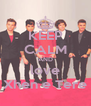 KEEP CALM AND love Xhen e Tere - Personalised Poster A4 size