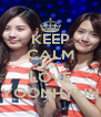 KEEP CALM AND LOVE YOONHYUN - Personalised Poster A4 size