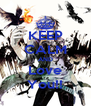 KEEP CALM AND Love You!! - Personalised Poster A4 size
