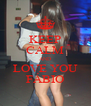 KEEP CALM AND LOVE YOU FÁBIO - Personalised Poster A4 size