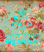 KEEP CALM AND Love Your Big Sister! - Personalised Poster A4 size