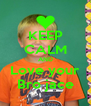 KEEP CALM AND Love your Bro jace - Personalised Poster A4 size