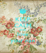 KEEP CALM AND love your nan - Personalised Poster A4 size