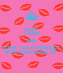 KEEP CALM AND LOVE YOUR PERFECT IMPERFECTIONS 18' - Personalised Poster A4 size