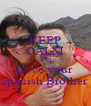 KEEP CALM AND Love your  Spanish Brother  - Personalised Poster A4 size