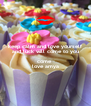 keep calm and love yourself and luck will come to you  come  love amya - Personalised Poster A4 size
