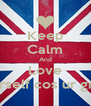 Keep Calm And Love Yourself cos ur great! - Personalised Poster A4 size