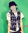 KEEP CALM AND LOVE YUTO - Personalised Poster A4 size
