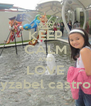 KEEP CALM AND LOVE yzabel castro - Personalised Poster A4 size
