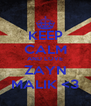 KEEP CALM AND LOVE ZAYN MALIK <3 - Personalised Poster A4 size