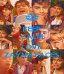 KEEP CALM AND LOVE ZAYN'S FACES - Personalised Poster A4 size