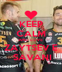 KEEP CALM AND LOVE ZAYTSEV E  SAVANI - Personalised Poster A4 size