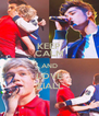 KEEP CALM AND LOVE ZIALL - Personalised Poster A4 size