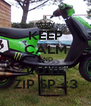 KEEP CALM AND LOVE ZIP SP <3 - Personalised Poster A4 size