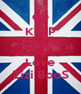 KEEP CALM AND Love Zizi BooS - Personalised Poster A4 size