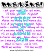 KEEP CALM AND  LOVE ZOE - Personalised Poster A4 size