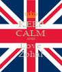 KEEP CALM AND Love Zohal - Personalised Poster A4 size