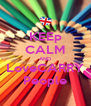 KEEp CALM AND LoveCARRY People - Personalised Poster A4 size