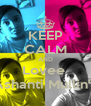 KEEP CALM AND Lovee  Ashanti Mullin's - Personalised Poster A4 size