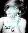 KEEP CALM AND LOVEE CH@N3L$ - Personalised Poster A4 size