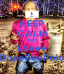 KEEP CALM AND Lovee DopeBoaPolo - Personalised Poster A4 size