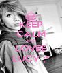 KEEP CALM AND LOVEE LUCY ;* - Personalised Poster A4 size