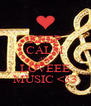 KEEP CALM AND LOVEEE MUSIC <33 - Personalised Poster A4 size