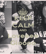 KEEP CALM AND Loveeee Gioooo - Personalised Poster A4 size