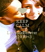 KEEP CALM AND LoveMeForever 102910<3 - Personalised Poster A4 size