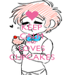KEEP CALM AND LOVES CUPCAKES - Personalised Poster A4 size