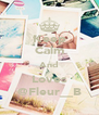 Keep Calm And Loves @Fleur__B - Personalised Poster A4 size