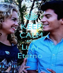 KEEP CALM AND LuAr Eterno  - Personalised Poster A4 size