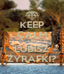 KEEP CALM AND LUBISZ ŻYRAFKI? - Personalised Poster A4 size