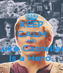 KEEP CALM AND Luke Castellan Is a Hero. - Personalised Poster A4 size