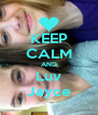 KEEP CALM AND Luv Jayce - Personalised Poster A4 size