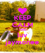 KEEP CALM AND luv jaymonee - Personalised Poster A4 size