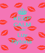 KEEP CALM AND Luv Nytoria  - Personalised Poster A4 size