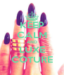 KEEP CALM AND LUXE COTURE - Personalised Poster A4 size