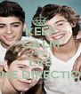 KEEP CALM AND LVE ONE DIRECTION - Personalised Poster A4 size
