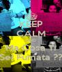 KEEP CALM AND Ma Cosa Ti Sei Fumata ?? - Personalised Poster A4 size
