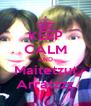 KEEP CALM AND Maitetzut Arratzzz - Personalised Poster A4 size