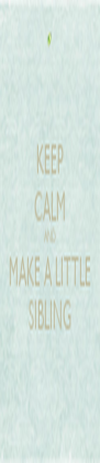 KEEP CALM AND MAKE A LITTLE SIBLING - Personalised Poster A4 size