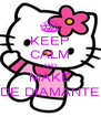 KEEP CALM AND MAKE DE DIAMANTE - Personalised Poster A4 size