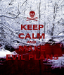 KEEP CALM AND MAKE EVIL PLANS - Personalised Poster A4 size