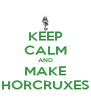 KEEP CALM AND MAKE HORCRUXES - Personalised Poster A4 size