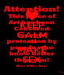 KEEP CALM AND MAKE SEX - Personalised Poster A4 size