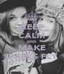 KEEP CALM AND MAKE SPARKS FLY  - Personalised Poster A4 size