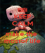 KEEP CALM AND make the  mostof life - Personalised Poster A4 size