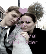 Keep calm AND make Val Vielmäder - Personalised Poster A4 size