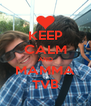 KEEP CALM AND MAMMA TVB - Personalised Poster A4 size